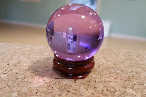 Asian Quartz Crystal Healing Ball - multiple colours