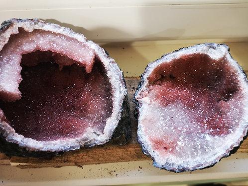 Spirit Cactus Faerie Angel Quartz Stalactite Geode (160x122x82mm)