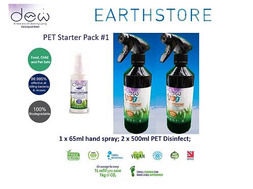 DEW PET - Dog, Cat, Dog Groomer, Bumper pack: Sanitiser Disinfect