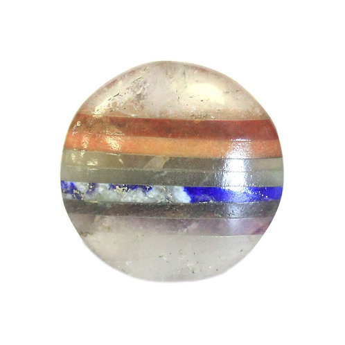 Chakra In Crystal Palmstone 45mm