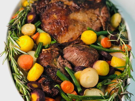 Athena's Grilled Butterflied Leg of Lamb