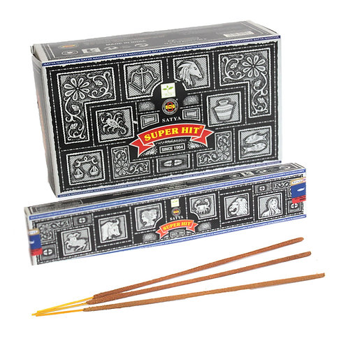BOX SUPER HIT by SATYA 12x 15g packets = 180g