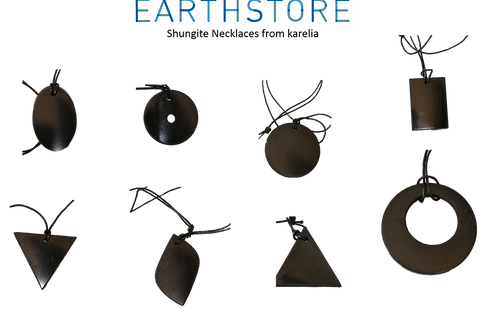 Shungite Necklace protect yourself 8 Styles 5G - EMP e-SMOG protection