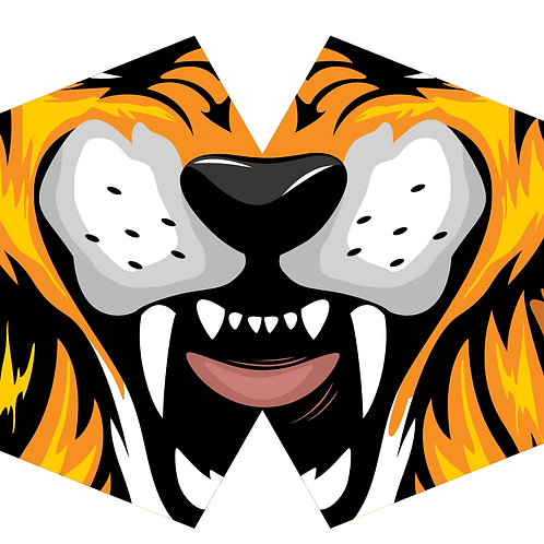 Reusable Fashion Face Mask - Tiger (Children)