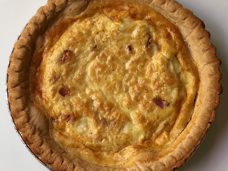 Mom's Quiche Lorraine: The Recipe