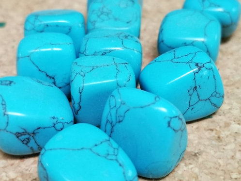 Howlite (Light Blue)
