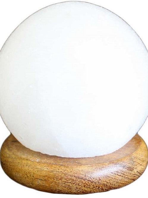 USB Ball Salt Lamp - 8 cm (WHITE)
