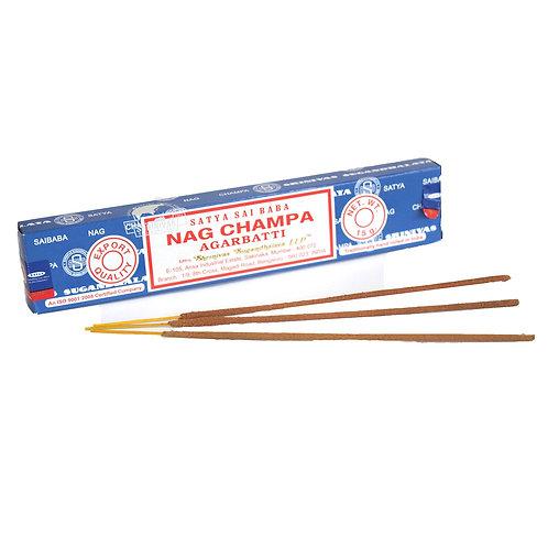 Nag Champa original - Pack of 12 sticks (15g) by Satya