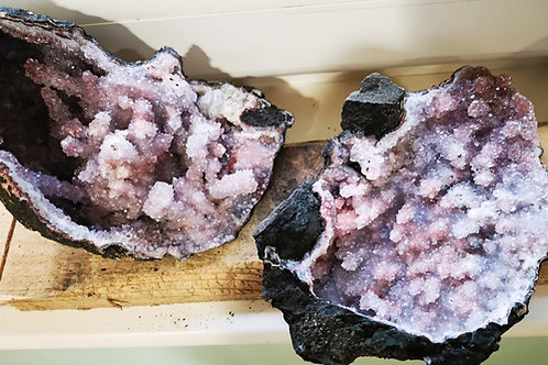 Spirit Cactus Fairy Angel Quartz Stalactite Geode (230x87x120mm)