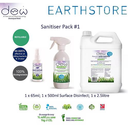 DEW Starter Pack, Bumper pack: Sanitiser Disinfect