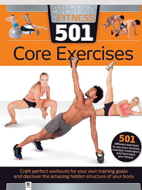 Anatomy of Fitness 501 Core Exercises ISBN 9781488934049