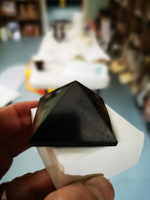 Elite Noble Silver Shungite Pyramid 42x42x33mm