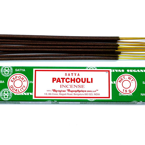 Satya Incense 15gm -Patchouli
