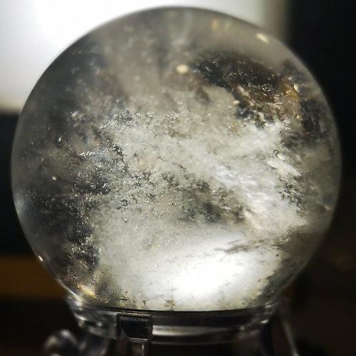Lemurian Seed Quartz Sphere Brazil 155g 48mm