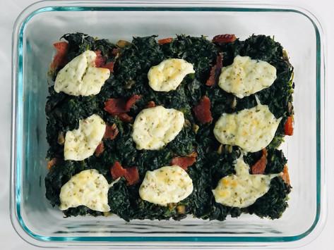 Mom's Spinach Casserole