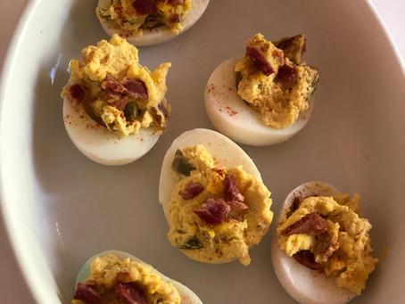 Charles' Deviled Eggs