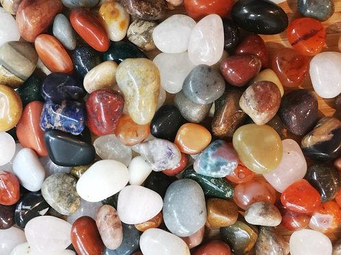 Crystal Grid Mixed Tumble Gem Stones x 10, 15, 20 packs