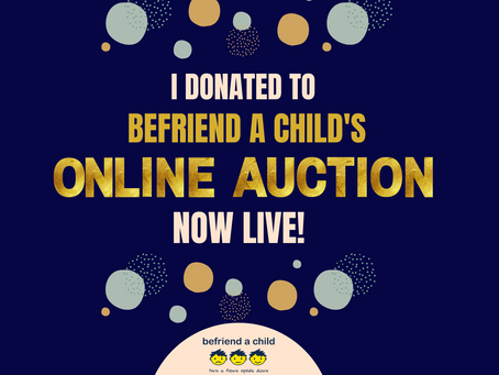 Befriend a Child Online Action HAPPENING NOW