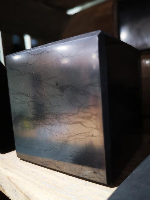GIANT Shungite Cube, powerful anti 5G + health  (65mm) 0.56Kg