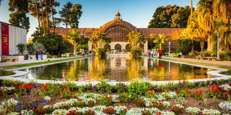 Balboa Park Koi Pond Pop-up