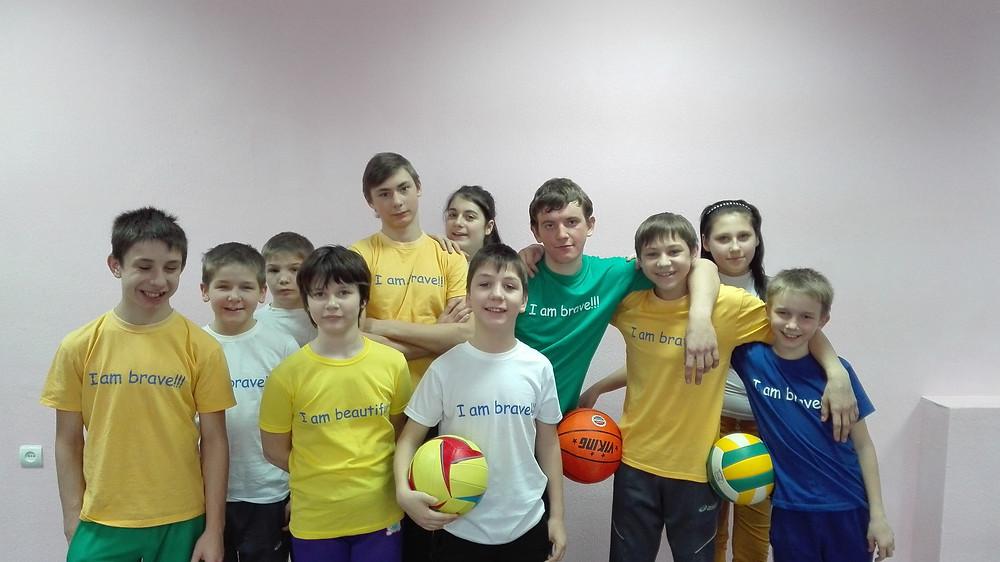 """Футболки для проекта """"Прикоснись к добру"""""""
