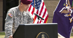 96th CAB (A) Holds Somalia Campaign Streamer Ceremony
