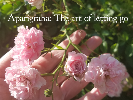 Aparigraha: The art of letting go
