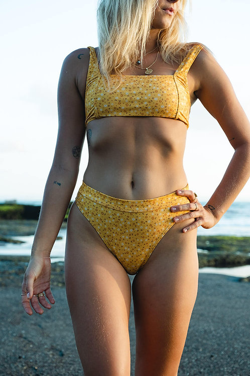 Two Piece bottoms in Golden Bloom