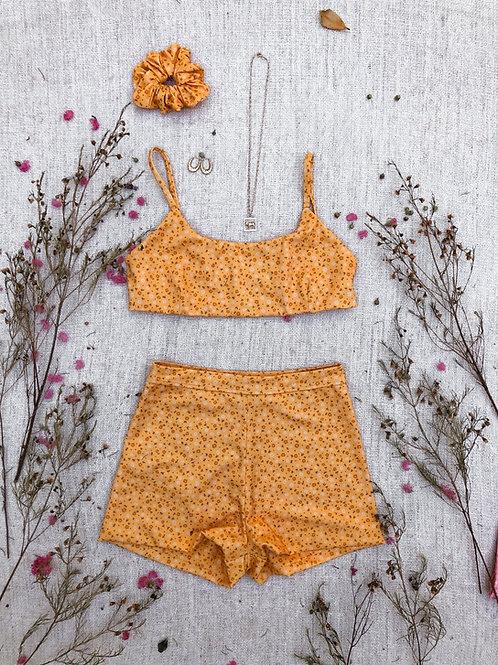 Shorties in Golden Bloom