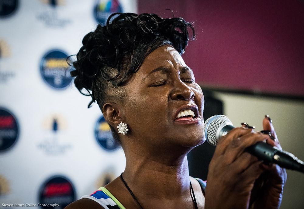 OPEN MIC: Gwendolyn singing Amazing Grace