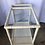 Thumbnail: 1980s Bamboo-Style White Lacquer Bar Cart/ Trolley