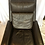 Thumbnail: Vintage Mid Century Leather Swivel Chair