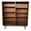 Thumbnail: 1960s Mid-Century Modern Tall Rosewood Bookcase