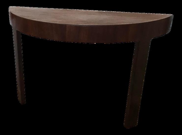 Mid Century Demi-Lune Console Table