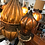 Thumbnail: 1960's Mexican Metal Chandelier