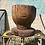 Thumbnail: Vintage Large Hand Carved Wood Planter
