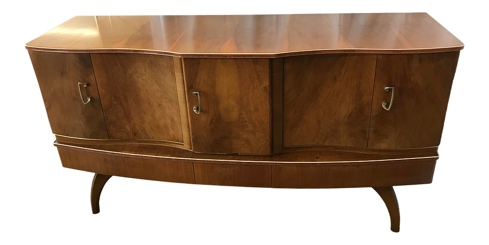 Beautility Art Deco Cocktail Sideboard Dry Bar