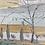 Thumbnail: Original Kenneth Kaye Landscape Painting, Framed