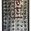"Thumbnail: ""Live"" Contemporary Text Mixed-Media Painting, Framed"