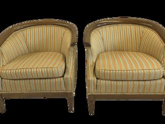 Restoration: Pair Edward Wormley Chairs