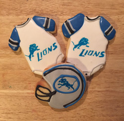 lions baby shower