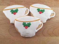 holiday teacup