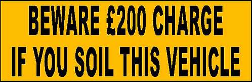 S19 - Soil Charge £200