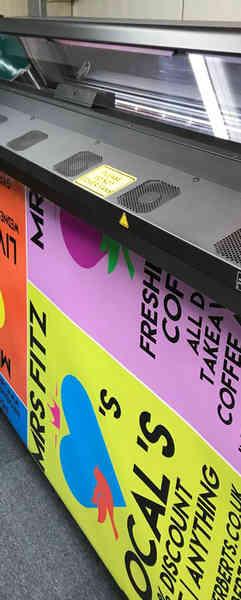 Sticker and Label Vinyl Printing