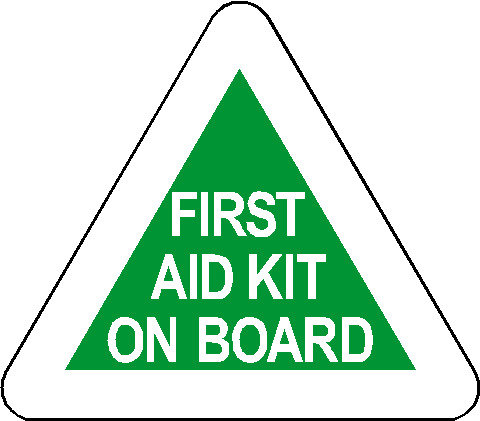 S81 - First Aid Kit On Board