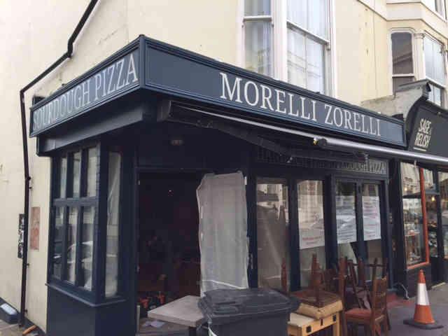 Brighton Shop front signs