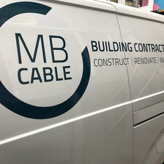 Mb Van Branding