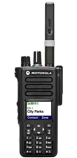 Motorola DP4801 Portable Digital Two Way Radio