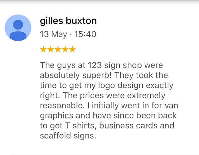 Customer review 5