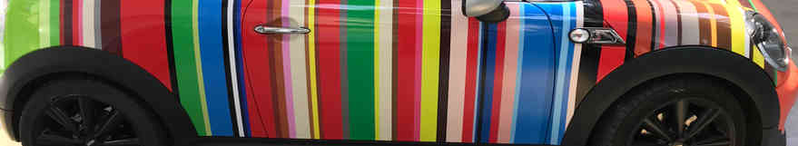 Mini Roadster Vinyl Wrap Day 4